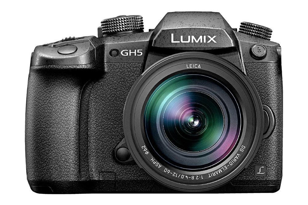 The mirrorless Panasonic Lumix GH5 camera