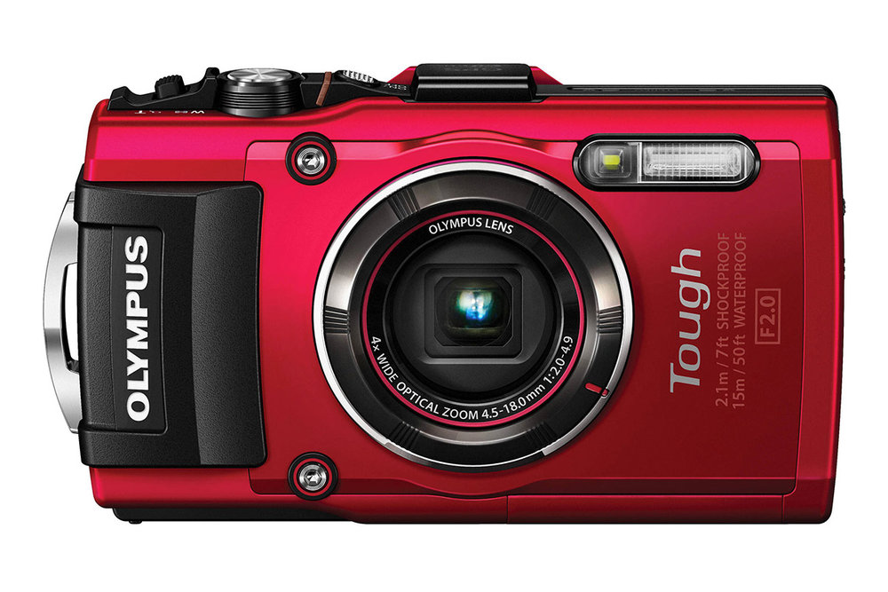 The waterproof Olympus Stylus Tough TG-4 compact camera