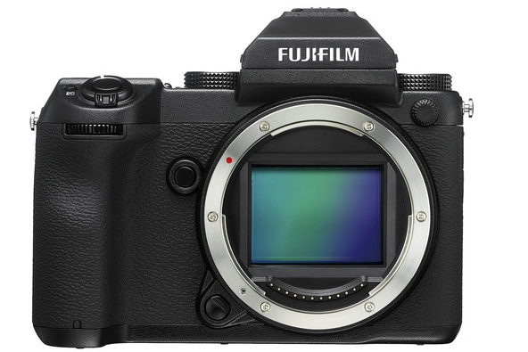 Fujifilms medium-format cuts an angular and retro shape