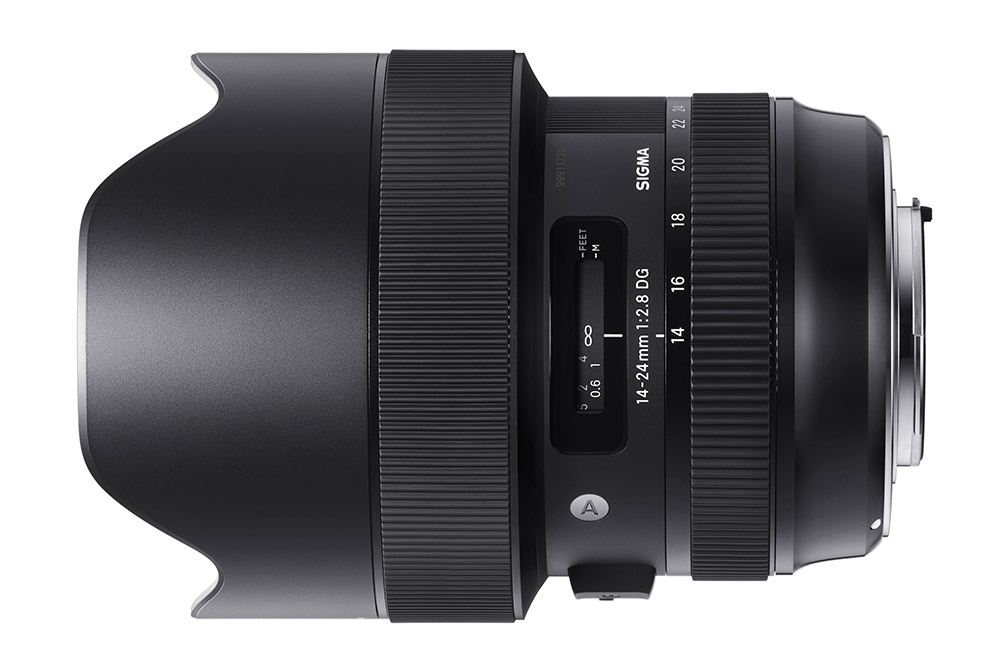 The Sigma 14-24mm f/2.8 DG HSM | Art lens is dust- and splash-proof