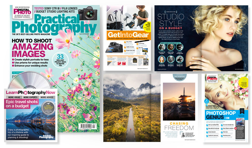 April 2018 issue of Practical Photography magazine