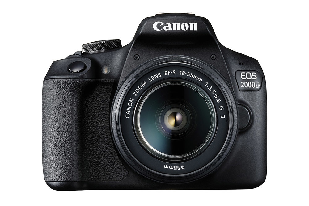 Canon EOS 2000D entry-level DSLR