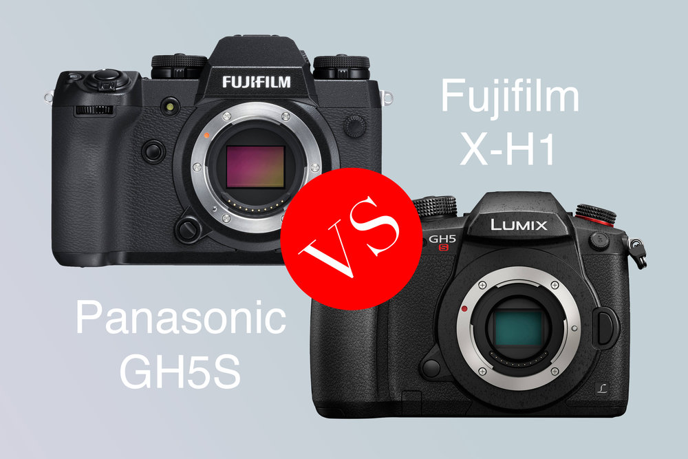We pitted the Fujifilm X-H1 against the Panasonic Lumix GH5S to see which was king of the stills/video hybrid!