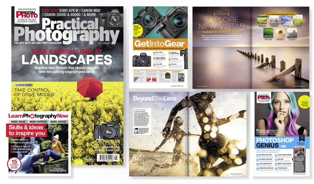 May 2018 issue of Practical Photography magazine