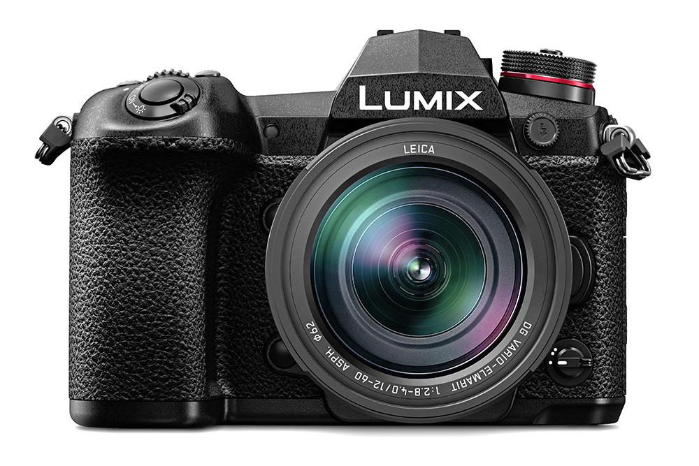 Panasonic LUMIX G9 – front