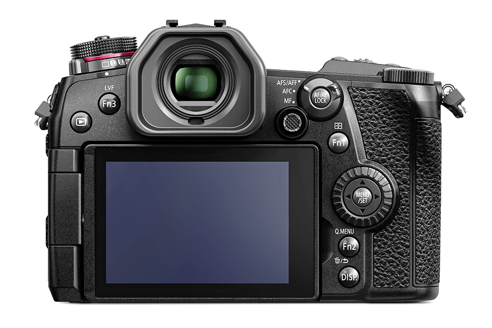 Panasonic LUMIX G9 – back