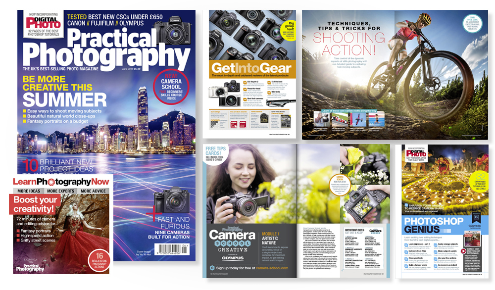 June 2018 issue of Practical Photography magazine