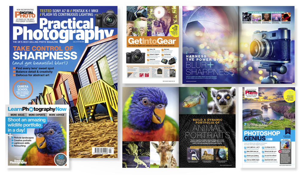 July 2018 issue of Practical Photography magazine