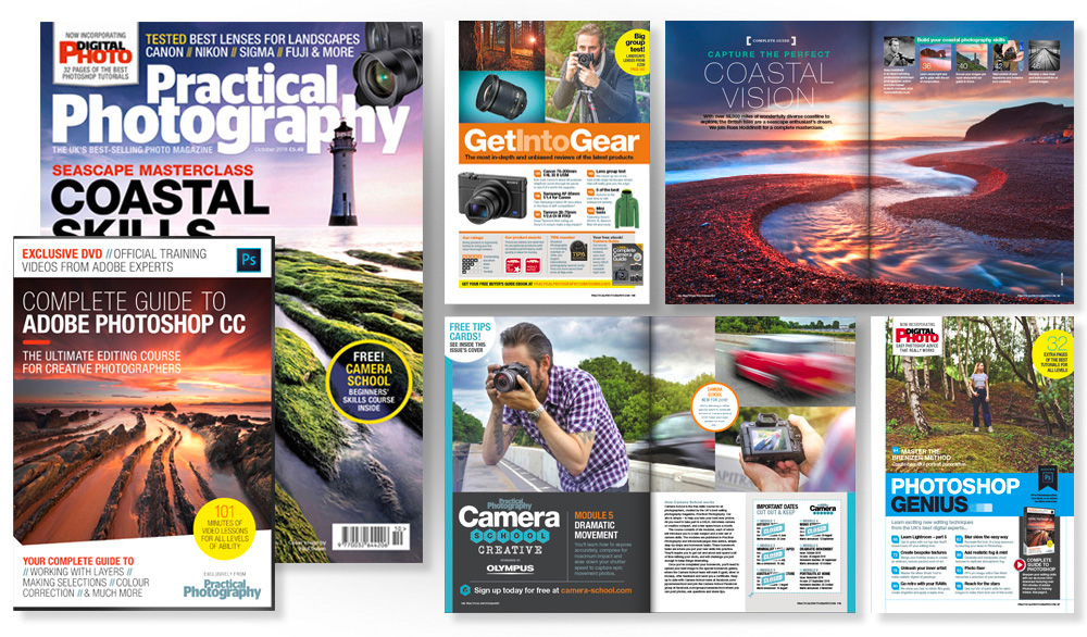 October 2018 issue of Practical Photography magazine