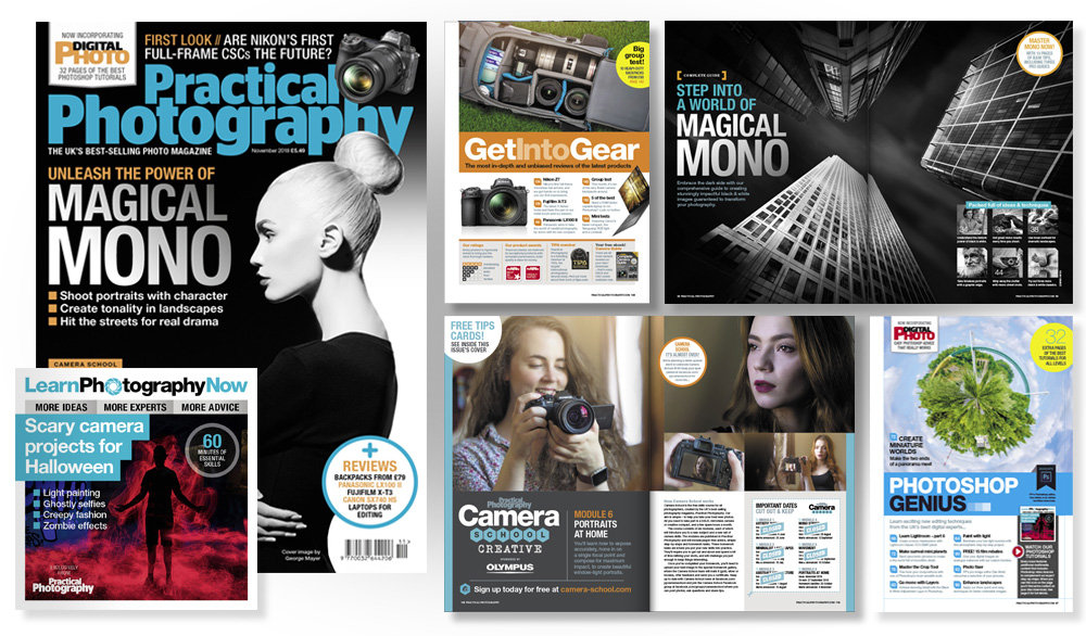 November 2018 issue of Practical Photography magazine