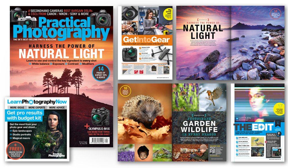 April 2019 issue of Practical Photography magazine