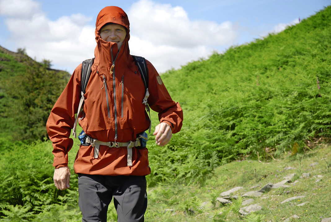 ef45f1ea368 First test: Fjällräven Keb Eco-Shell Anorak (2015) — Live for the Outdoors