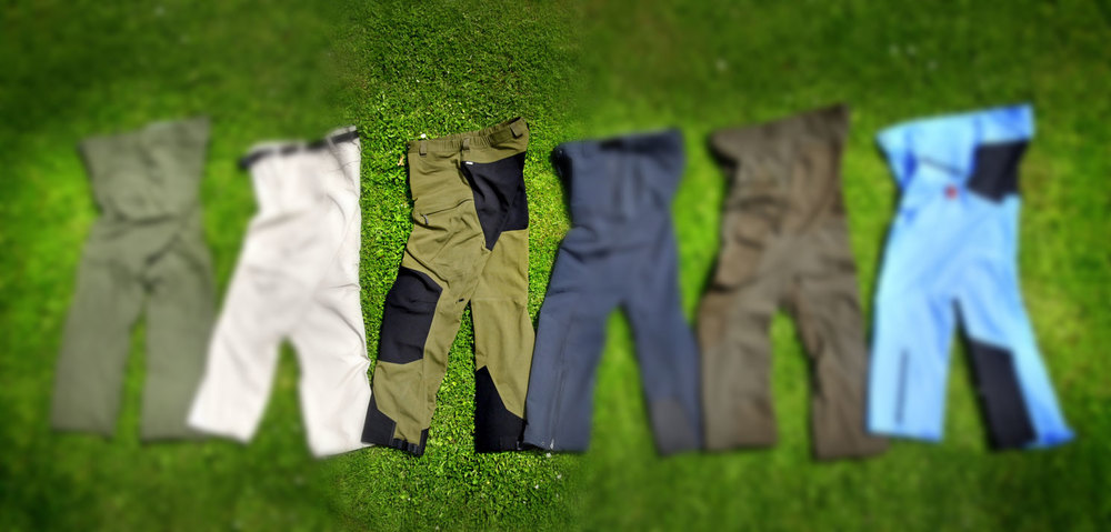 Made from a relatively heavy nylon canvas called Climatic, with triple stitching in many areas, Haglöfs Rugged II Mountain Pants are well-established, ...