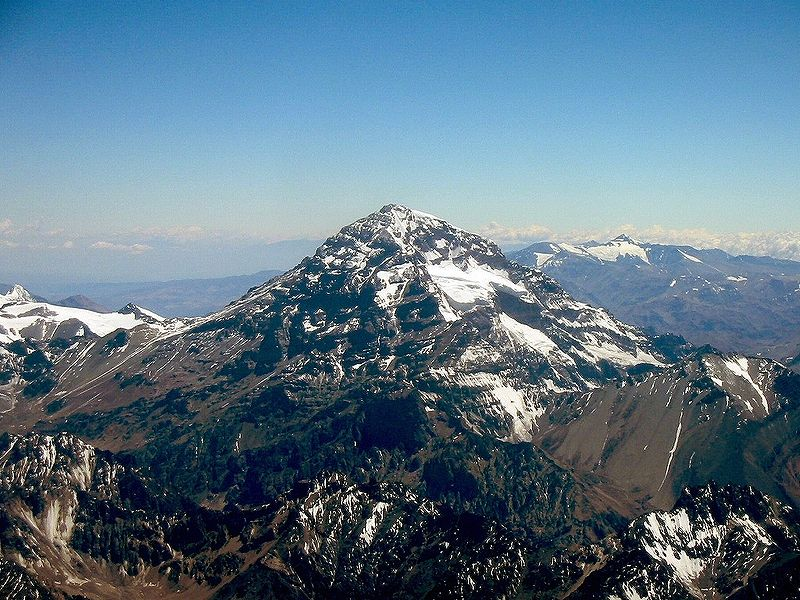 Aconcagua - the highest mountain in South America