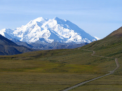 Mount McKinley - one of the most inhospitable places on earth