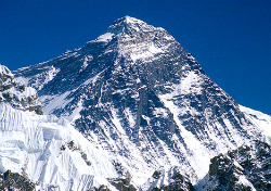 The highest of them all - Mount Everest