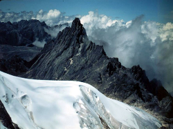 The Muller Glacier, up the 'sinister' Carstensz Pyramid