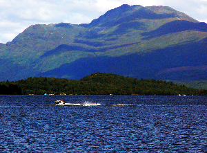 Ben Lomond, in Loch Lomond and the Trossachs