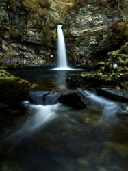 Grey Mares Tail by David Baird