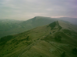 Mam Tor ridge by Theguyuk