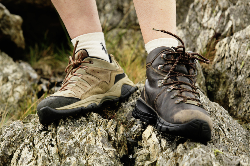Could your choice of footwear be limiting your walking?