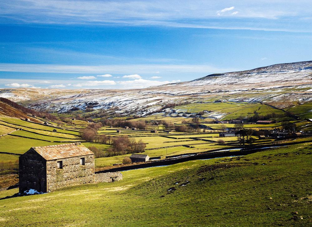 Weardale in winter. Photo: Mike Kipling / Superstock