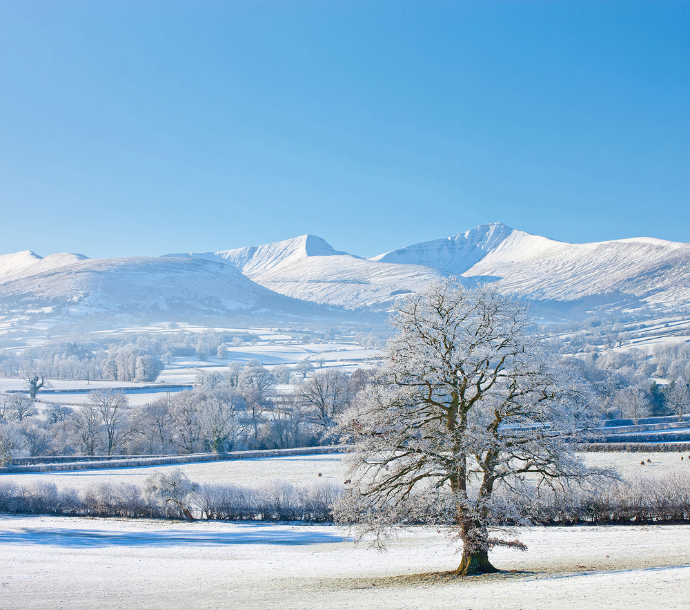 Pen y Fan from the north. Photo: CW Images / Alamy
