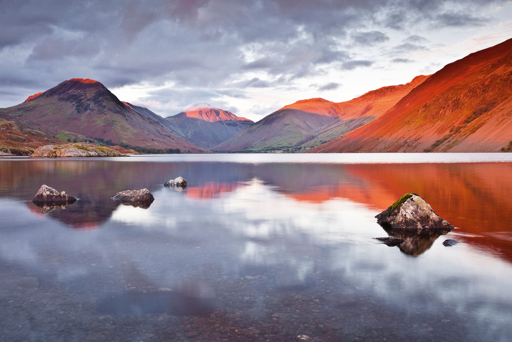 The iconic view down Wast Water with (L-R) Yewbarrow, Great Gable and Lingmell. Photo: Robert Harding World Imagery / Alamy