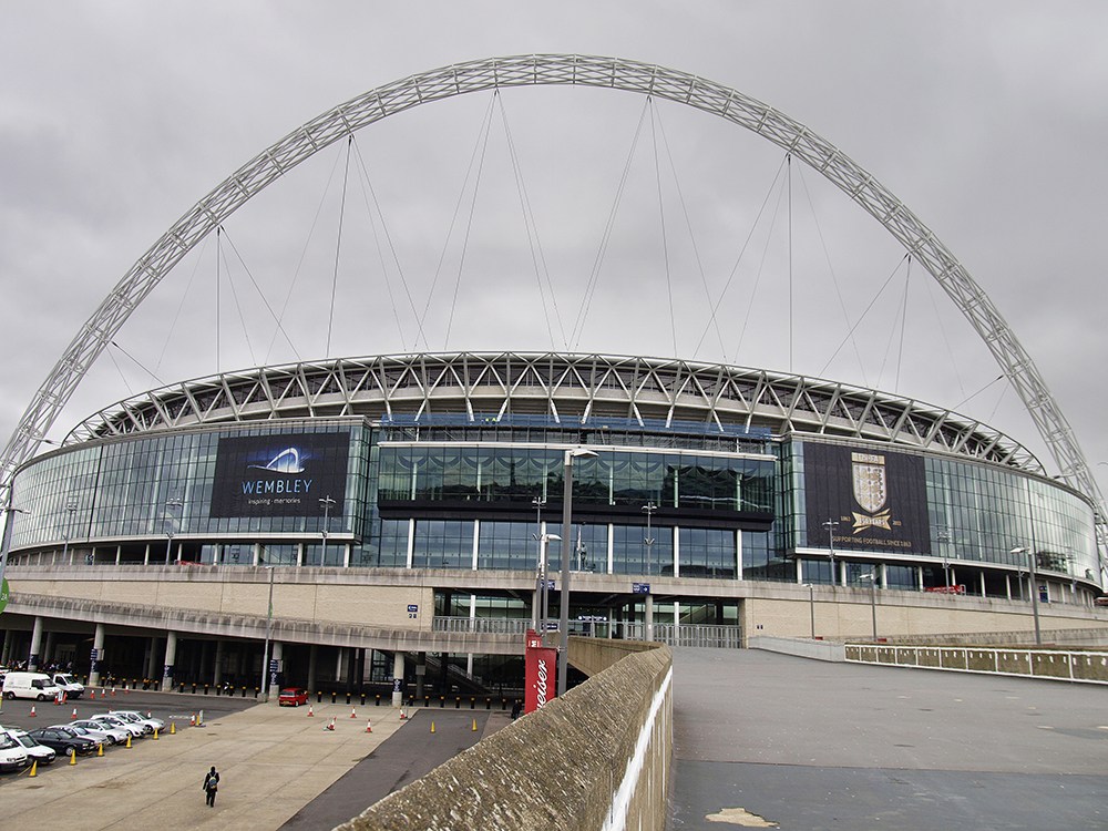 Wembley Stadium. Photograph: Nick Hallissey / Country Walking Magazine