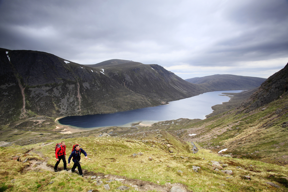 The British mountains are glaciated enviroments. They just don't have glaciers any more. If they were to return, though, it would be here in Scotland's Cairngorms. Photograph Tom Bailey / Trail Magazine
