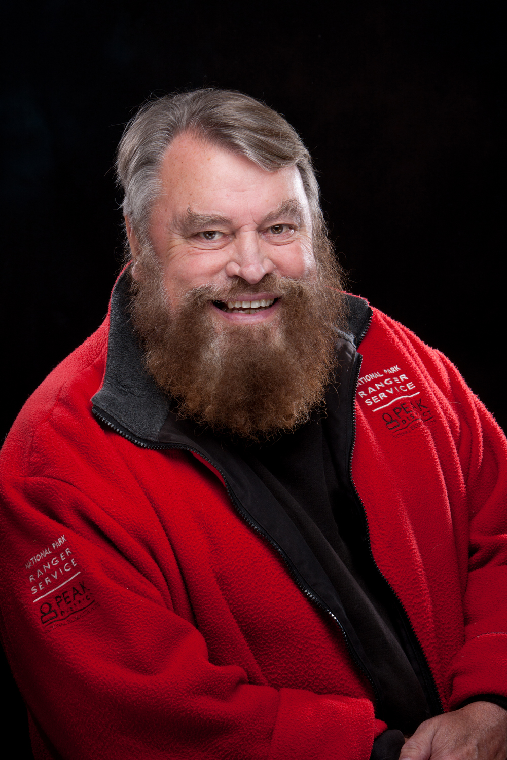 Brian Blessed. Photo: Peak District NP