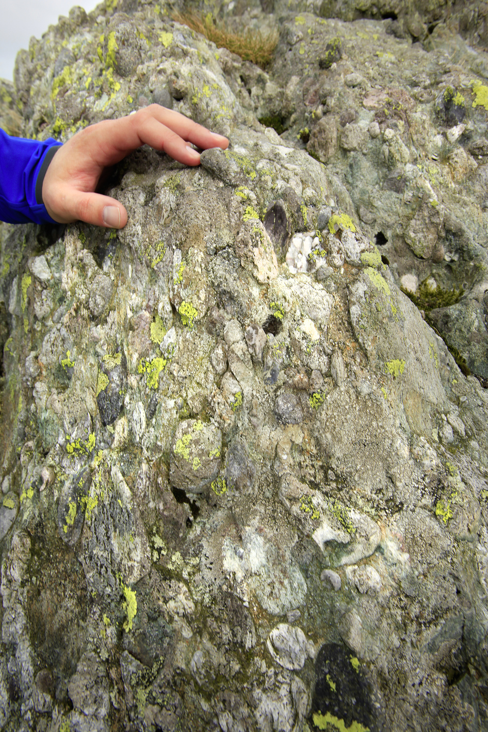 These scientifically important rocks fascinated Charles Darwin.  Photo : Tom Bailey © Trail Magazine