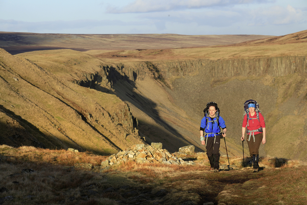 The walk in from Dufton, High Cup beyond. Photo: Tom Bailey © Trail Magazine
