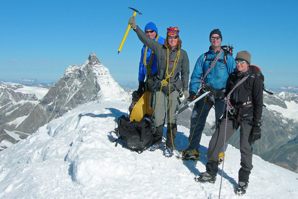 Italian high level trekking route