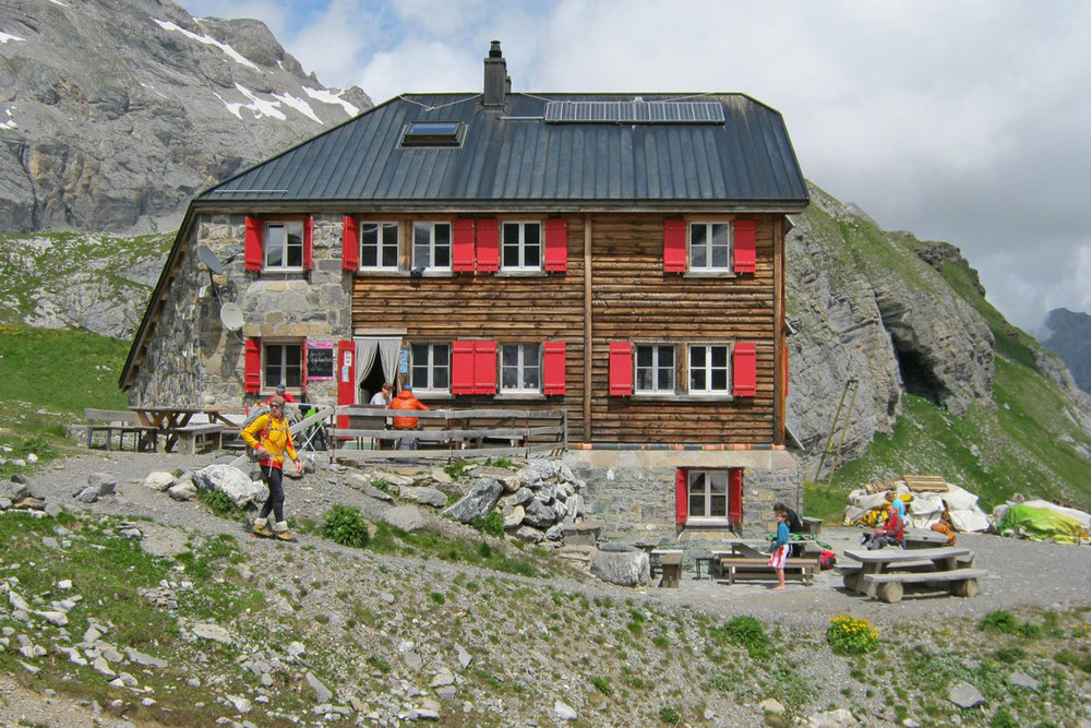 Bernese Oberland haute route west