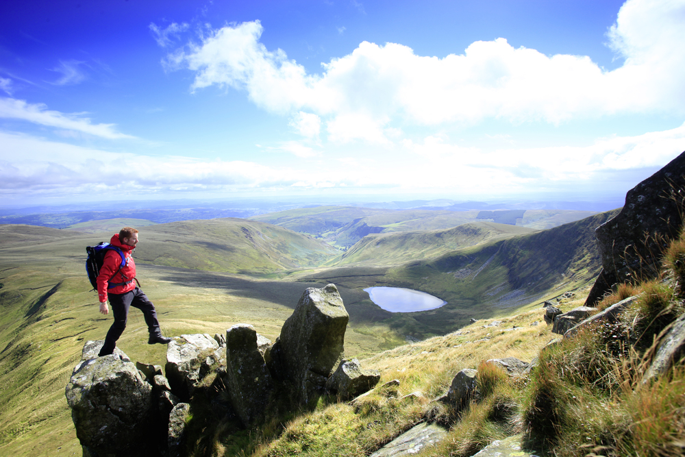 Llyn Luncaw, nestled in the shadow of Moel Sych. Photo: Tom Bailey / Trail Magazine