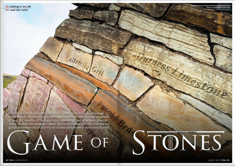 GAME OF STONES Ever wondered just how the ground under your feet came to be? Discover the violence and conflict of geology with Ronald Turnbull.