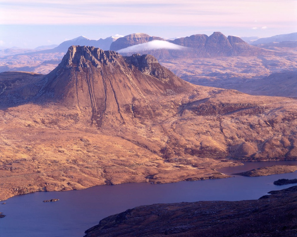 Stac Pollaidh and Suilven, Assynt, Scotland