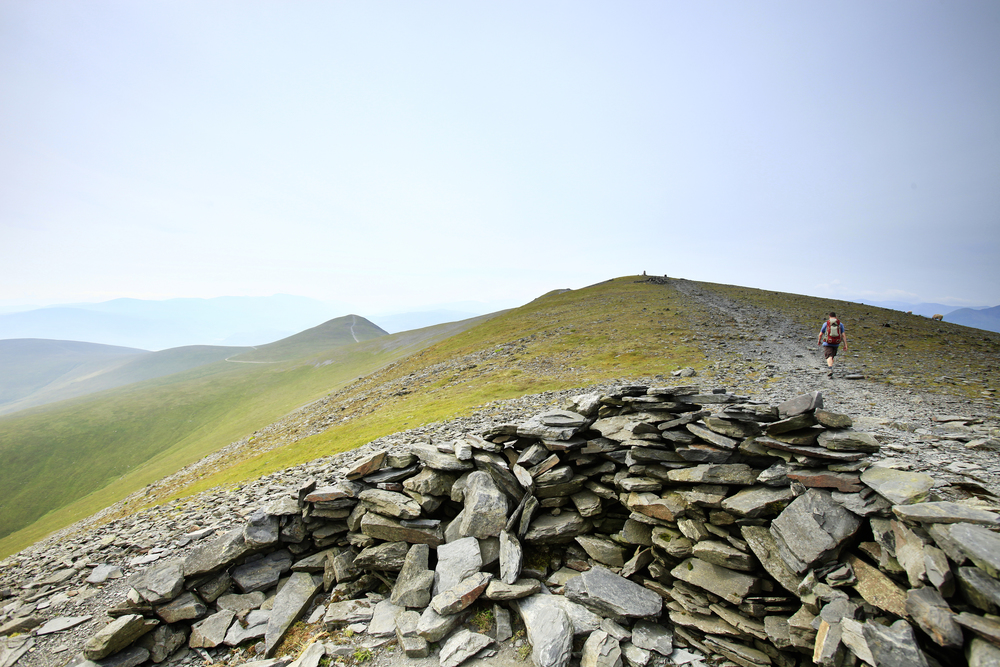 The northern end of Skiddaw's mighty whaleback. Photo: Tom Bailey / Country Walking Magazine.