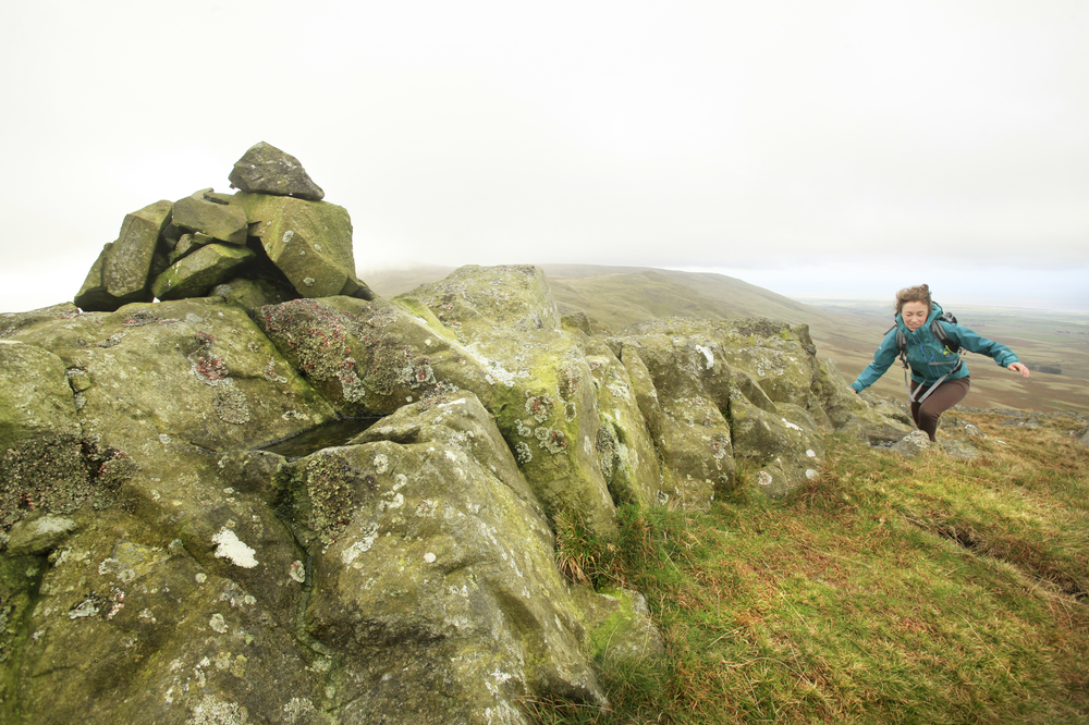On Yoad Castle. Photo: Tom Bailey / Trail Magazine