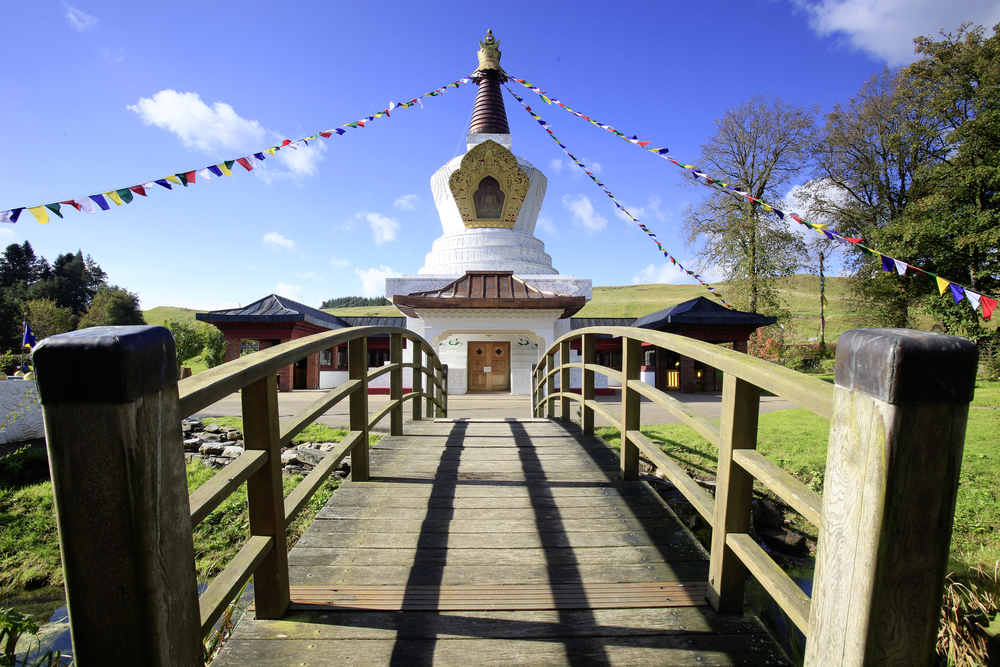 Samye Ling - not Tibet, but the Highlands. Really. Photo: Tom Bailey / Country Walking