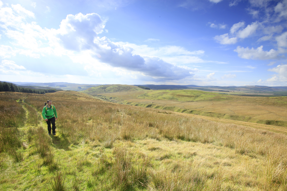 Approaching the top of Grey Hill. Photo: Tom Bailey / Country Walking