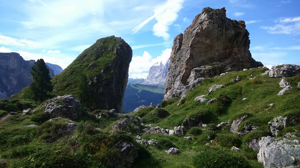 Julie Read: Back from five fabulous days walking in the Dolomites. This place has everything!