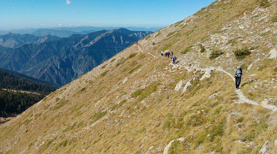 Jackie Parsons: Fabulous hike in the Maritime Alps in France to add 13 miles to my tally