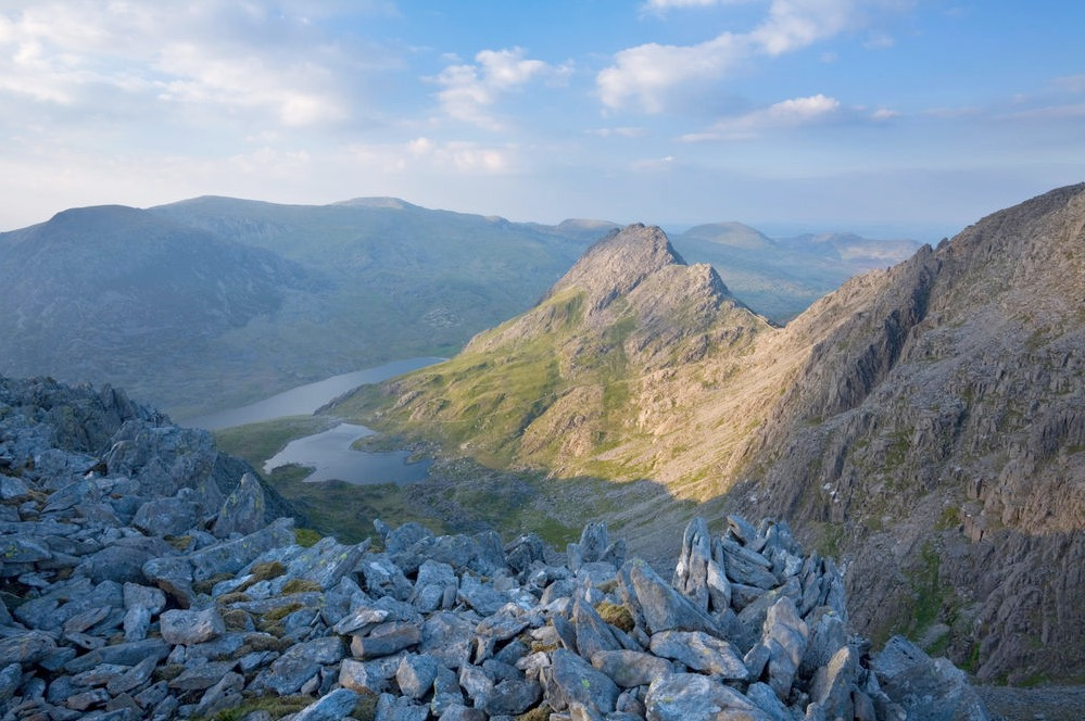 Tryfan, Ogwen Valley, Snowdonia, North Wales.