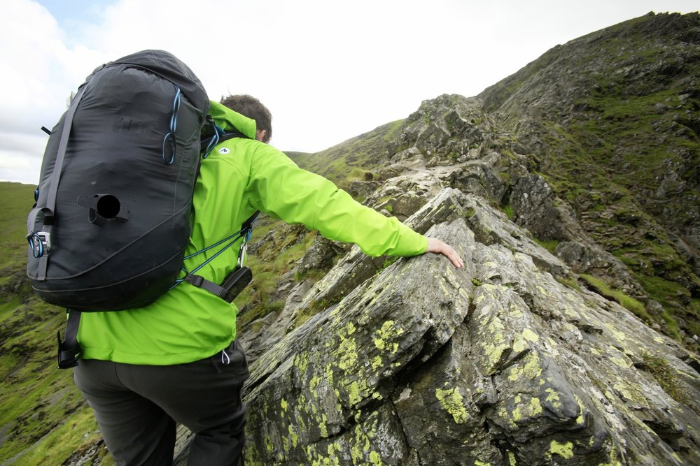 20 litre packs can work for backpacking. Provided they're designed for it. Photo: Tom Bailey / Trail Magazine