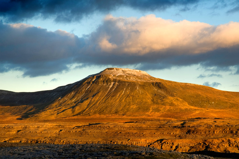 Ingleborough, Yorkshire's second highest but most statuesque peak. Photo: Vincent Lowe / Alamy