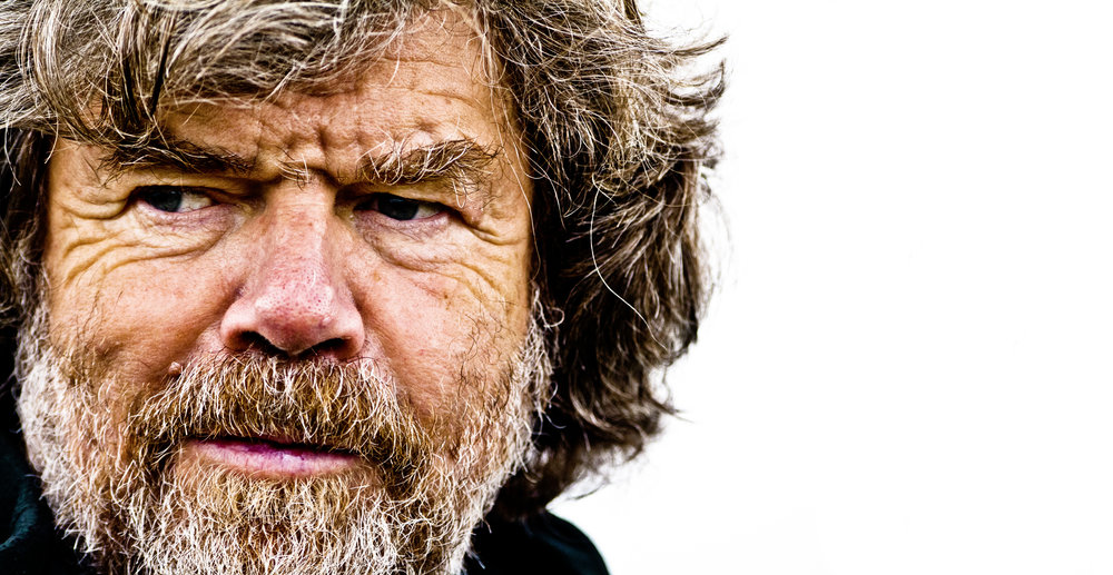 Reinhold Messner. Photo: Simon Ingram / Trail Magazine