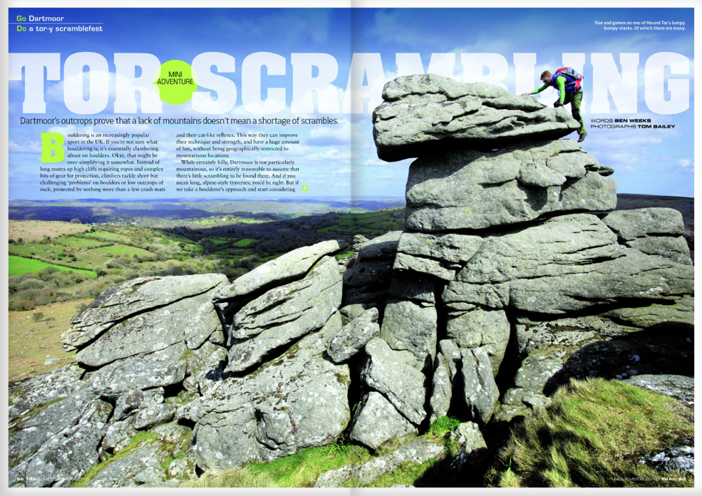 GO Dartmoor - DO a tor-y scramblefest