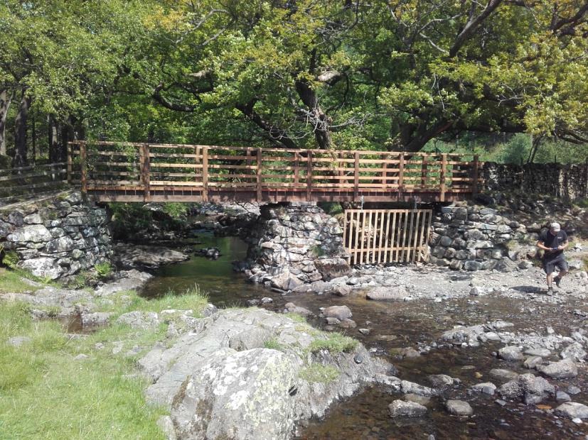 Repaired bridge at Hoggs Earth, near Watendlath